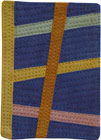 Abstract Contemporary Textile Painting / Art Quilt - ACEO #3 ©2007 Lisa Call
