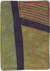 Abstract Contemporary Textile Painting / Art Quilt - ACEO #45 ©2011 Lisa Call