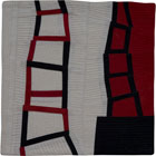 Abstract Contemporary Textile Painting / Art Quilt Ascending #1 ©2009 Lisa Call