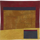 Abstract Contemporary Textile Painting / Art Quilt - Dream #46 Lisa Call