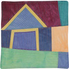 Abstract Contemporary Textile Painting / Art Quilt - Home #8 ©2008 Lisa Call