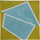 Abstract Contemporary Textile Painting / Art Quilt - Home #24 ©Lisa Call