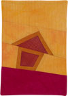 Abstract Contemporary Textile Painting / Art Quilt - Home #30 ©Lisa Call