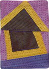 Abstract Contemporary Textile Painting / Art Quilt - Home #34 ©2010 Lisa Call