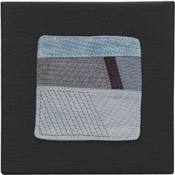Abstract Contemporary Textile Painting / Art Quilt - Endless Horizon: Journey Lisa Call