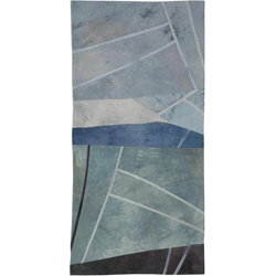 Abstract Contemporary Textile Painting / Art Quilt - Falling in Love - Cape Palliser: Dawn Lisa Call