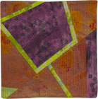 Abstract Contemporary Textile Painting / Art Quilt - Portals #20 ©Lisa Call