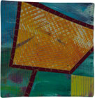 Abstract Contemporary Textile Painting / Art Quilt - Portals #21 ©2013 Lisa Call