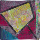 Abstract Contemporary Textile Painting / Art Quilt - Portals #22 ©2013 Lisa Call