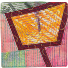 Abstract Contemporary Textile Painting / Art Quilt - Portals #26 ©2013 Lisa Call
