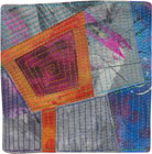 Abstract Contemporary Textile Painting / Art Quilt - Portals #31 ©Lisa Call