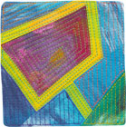 Abstract Contemporary Textile Painting / Art Quilt - Portals #32 ©Lisa Call