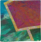 Abstract Contemporary Textile Painting / Art Quilt - Portals #43 ©2013 Lisa Call