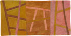 Abstract Contemporary Textile Painting / Art Quilt - Postcards from Italy #2 ©2013 Lisa Call