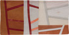 Abstract Contemporary Textile Painting / Art Quilt - Postcards from Italy #4 ©2013 Lisa Call