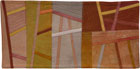 Abstract Contemporary Textile Painting / Art Quilt - Postcards from Italy #14 ©2014 Lisa Call
