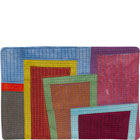Abstract Contemporary Textile Painting / Art Quilt - Postcards from New York #4 ©2012 Lisa Call