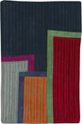 Abstract Contemporary Textile Painting / Art Quilt - Postcards from New York #9 ©2012 Lisa Call