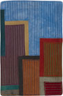 Abstract Contemporary Textile Painting / Art Quilt - Postcards from New York #12 ©2012 Lisa Call
