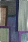 Abstract Contemporary Textile Painting / Art Quilt - Postcards from New York #13 ©2012 Lisa Call