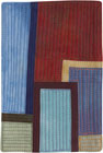 Abstract Contemporary Textile Painting / Art Quilt - Postcards from New York #14 ©2012 Lisa Call