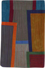 Abstract Contemporary Textile Painting / Art Quilt - Postcards from New York #15 ©2012 Lisa Call