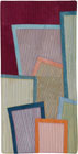 Abstract Contemporary Textile Painting / Art Quilt - Postcards from New York #18 ©2012 Lisa Call