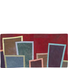Abstract Contemporary Textile Painting / Art Quilt - Postcards from New York #21 ©2012 Lisa Call