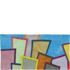 Abstract Contemporary Textile Painting / Art Quilt - Postcards from New York #22 ©2012 Lisa Call