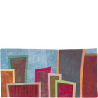Abstract Contemporary Textile Painting / Art Quilt - Postcards from New York #24 ©2012 Lisa Call