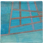 Abstract Contemporary Textile Painting / Art Quilt - Postcards from Thailand #3 Lisa Call