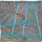 Abstract Contemporary Textile Painting / Art Quilt - Postcards from Thailand #4 Lisa Call