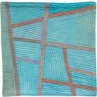 Abstract Contemporary Textile Painting / Art Quilt - Postcards from Thailand #5 Lisa Call