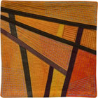Abstract Contemporary Textile Painting / Art Quilt - Postcards from Thailand #9 Lisa Call
