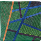 Abstract Contemporary Textile Painting / Art Quilt - Postcards from Thailand #11 Lisa Call