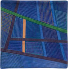 Abstract Contemporary Textile Painting / Art Quilt - Postcards from Thailand #14 Lisa Call