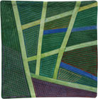 Abstract Contemporary Textile Painting / Art Quilt - Postcards from Thailand #15 Lisa Call