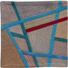 Abstract Contemporary Textile Painting / Art Quilt - Postcards from Thailand #16 Lisa Call