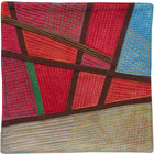 Abstract Contemporary Textile Painting / Art Quilt - Postcards from Thailand #19 Lisa Call