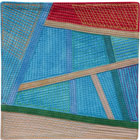 Abstract Contemporary Textile Painting / Art Quilt - Postcards from Thailand #20 Lisa Call