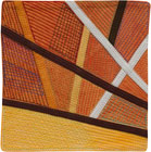 Abstract Contemporary Textile Painting / Art Quilt - Postcards from Thailand #23 Lisa Call