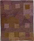 Abstract Contemporary Textile Painting / Art Quilt - Squares #4 ©2006 Lisa Call