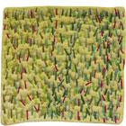 Abstract Contemporary Textile Painting / Art Quilt - Stillness: Jungle #2 ©2010 Lisa Call