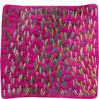 Abstract Contemporary Textile Painting / Art Quilt - Stillness: Jungle #4 ©2010 Lisa Call