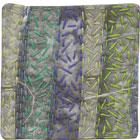 Abstract Contemporary Textile Painting / Art Quilt - Stillness: Jungle #8 ©2010 Lisa Call