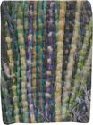 Abstract Contemporary Textile Painting / Art Quilt - Stillness: Jungle #9 ©2010 Lisa Call