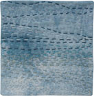 Abstract Contemporary Textile Painting / Art Quilt - Stillness: Sea #1 ©2010 Lisa Call