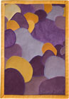 Abstract Contemporary Textile Painting / Art Quilt - Stones #1 ©2002 Lisa Call