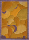 Abstract Contemporary Textile Painting / Art Quilt - Stones #2 ©2002 Lisa Call