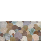 Abstract Contemporary Textile Painting / Art Quilt - Stones #6 ©2002 Lisa Call